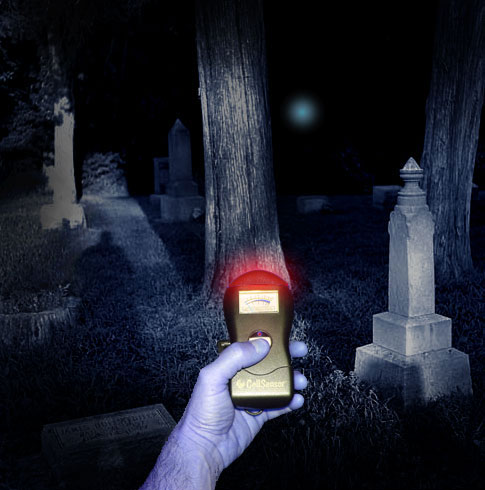 Ghost Hunting Equipment in Use