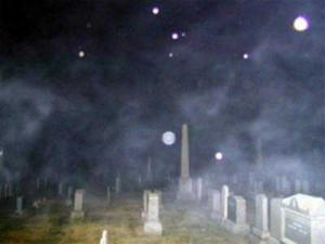 Ghosts caught on camera - orbs