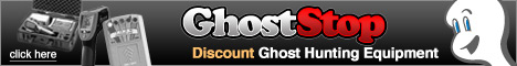 Ghost Hunting Equipment Banner